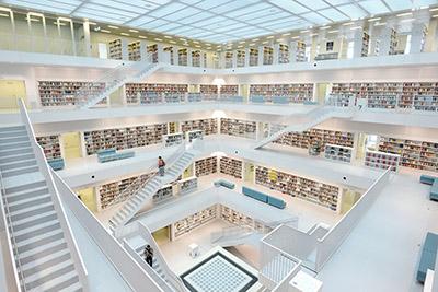 Die Graphothek  der Stadtbibliothek