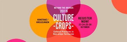 """Culture Crops: cultural practices innon-urban territories"""