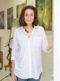 Grossformatige Rätsel- Die Malerin Karin Kneffel