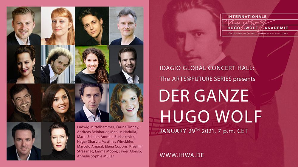 Der ganze Hugo Wolf im Online-Stream
