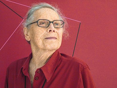 Vera Molnar.Promenades en carré